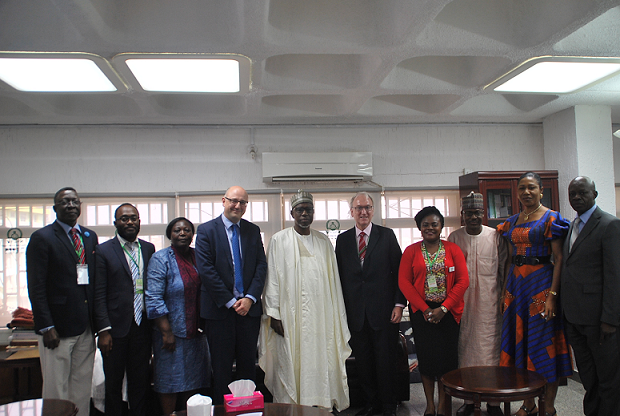 University of Sussex Visits NUC on TTT