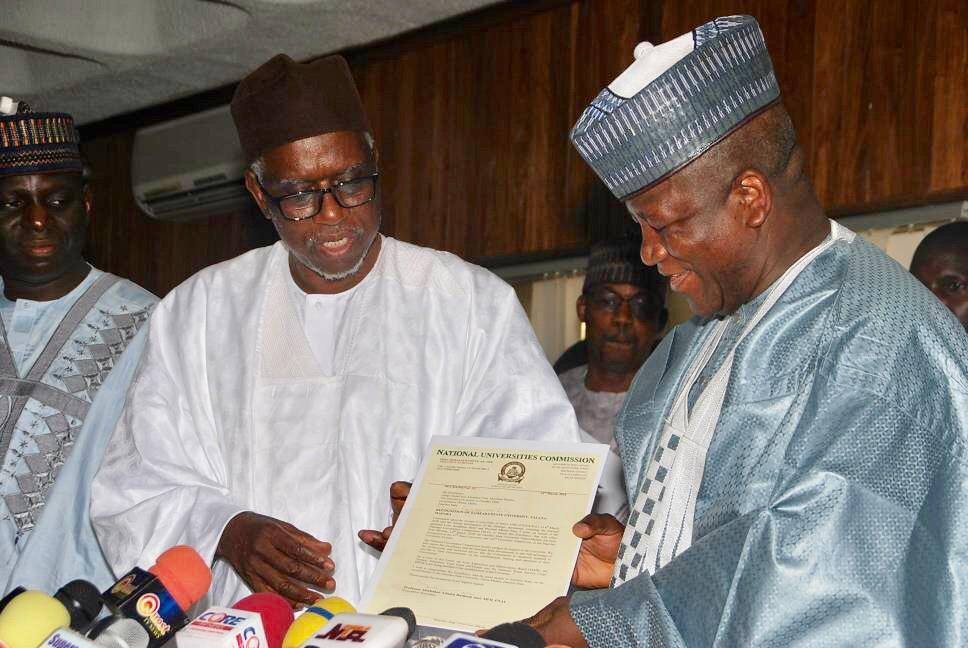 Zamfara State University is 47th State, 162nd in Nigeria