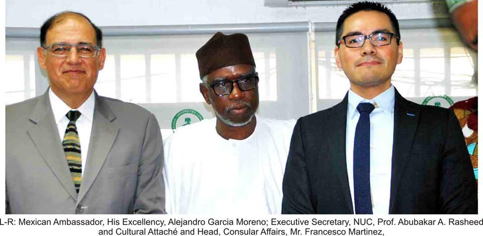 Executive Secretary Receives Mexican Envoy to Nigeria