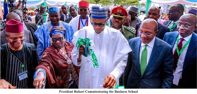Buhari Commissions ABU Business School —— FG Spends N1.3trn on Education in 4 years