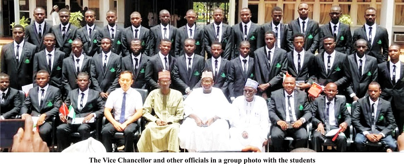 Joint Double Degree Programme: Second Batch of ABU Students Leave For China