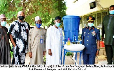 AFIT Commandant Visits NUC
