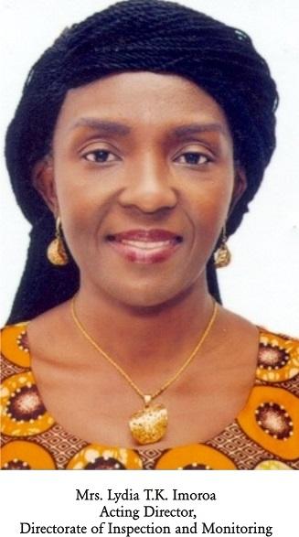 Mrs Lydia Imoroa