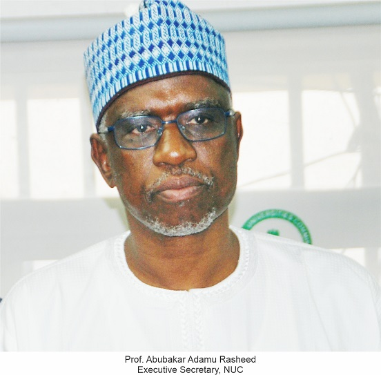 PMB Reappoints Prof. Rasheed, Others —— Wild Jubilation at NUC Hqtrs.